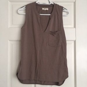 Madewell Tan Tank Top Sz Small